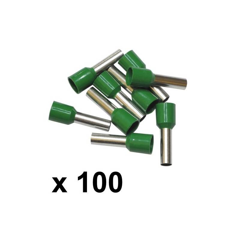 6mm² Bootlace Ferrules (100) - Rhino Electricians Tools