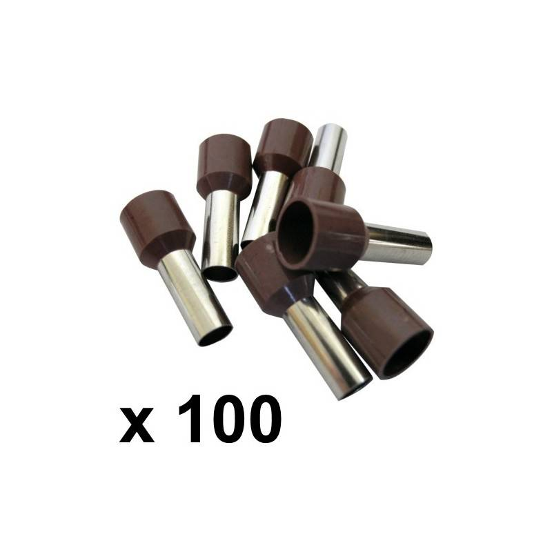 10mm 178 Bootlace Ferrules 100 Rhino Electricians Tools