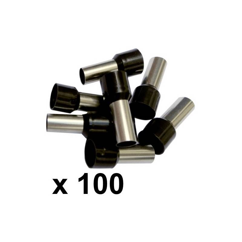 25mm² Bootlace Ferrules (100) - Rhino Electricians Tools