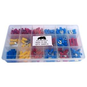 300 Piece insulated terminal kit