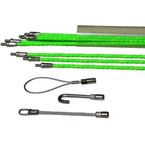 10 X 1m Cable Push Pull Rods