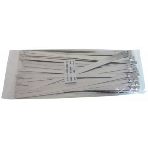 7.9mm X 300mm 316 stainless steel cable tie