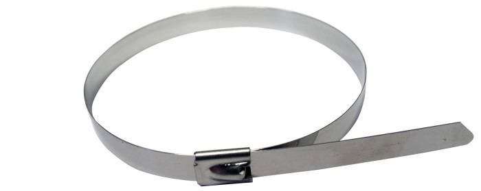 7.9mm X 1000mm 316 stainless steel cable tie