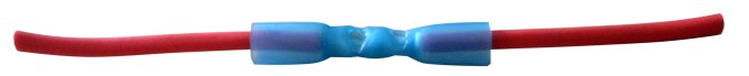 Blue Heatshrink butt connectors