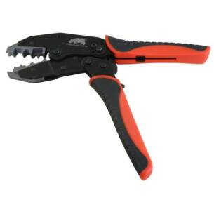 Sparkplug lead cable crimper