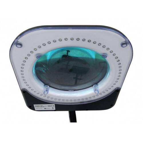 Black 6 inch Led magnifying lamp