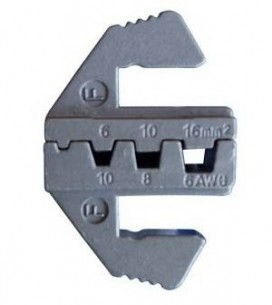 6mm 16mm Bootlace Ferrules Die Quick Change Crimper