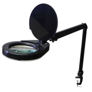 Black LED Magnifying Lamp Australia