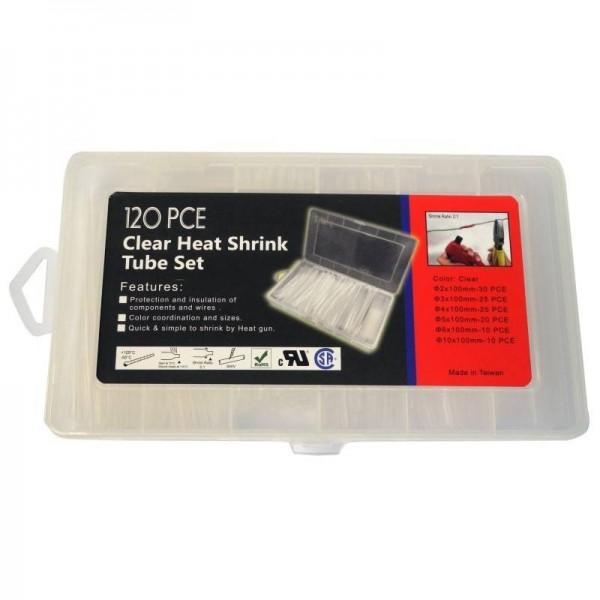 Clear heat shrink kit