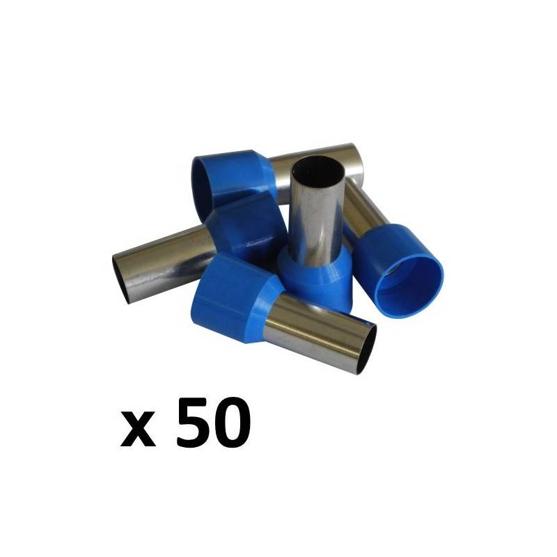 50mm² Bootlace Ferrules (50) - Rhino Electricians Tools