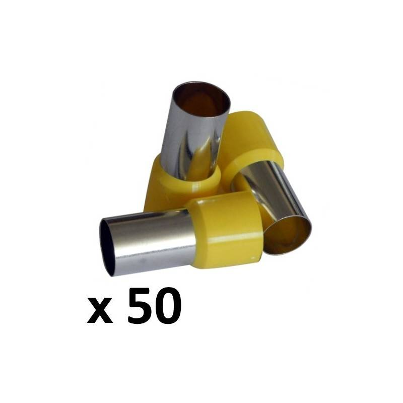 70mm² Bootlace Ferrules (50) - Rhino Electricians Tools