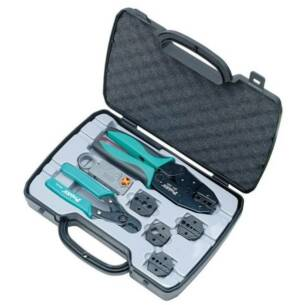 Coax Cable Crimping Kit