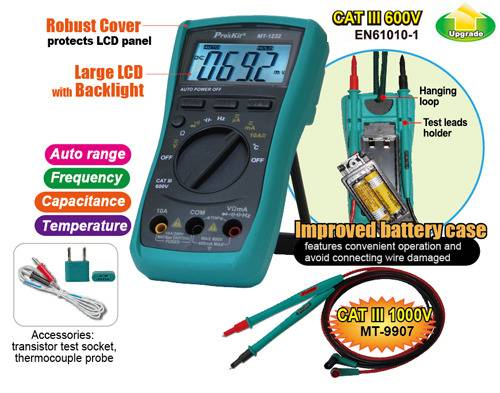 Proskit MT-1232 multimeter