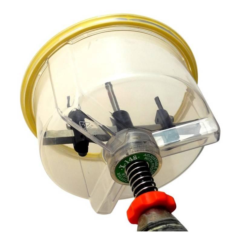148mm Adjustable Holesaw Rhino Electricians Tools