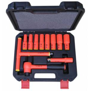 Insulated Ratchet Socket Set