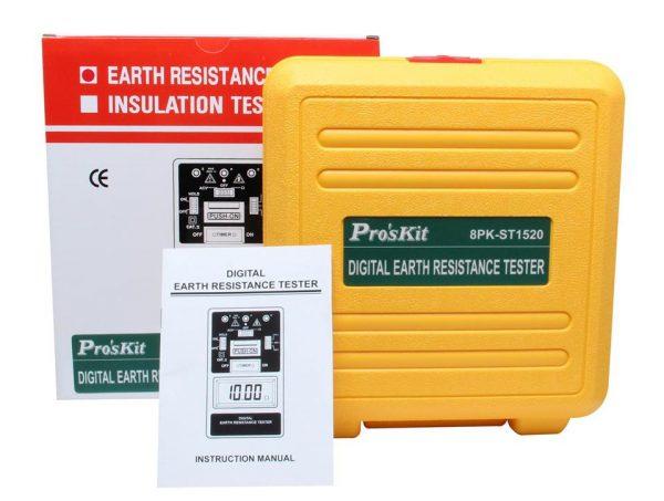 Earth resistance meter