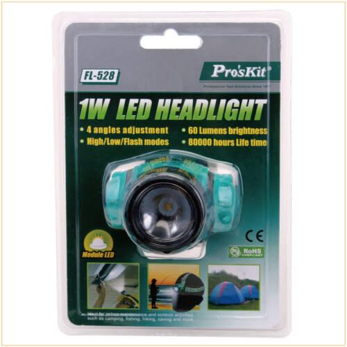 Pro'sKit LED head lamp