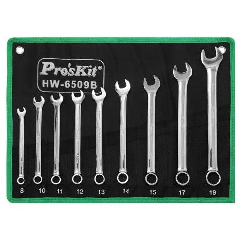 HW-6509B combination wrench set