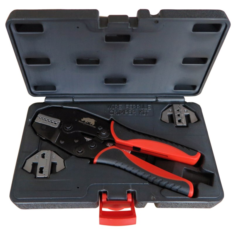 Bootlace Ferrule Crimping Kit Rhino Electricians Tools