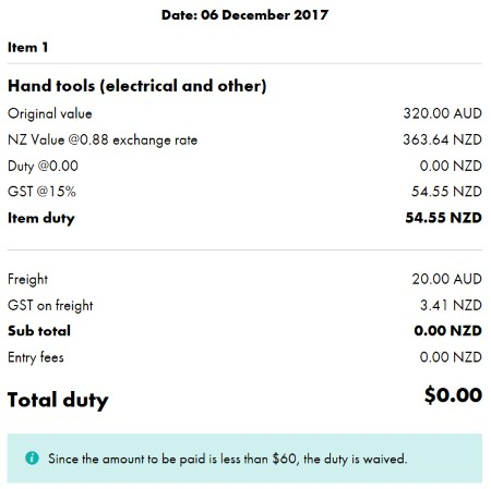 NZ Delivery - Rhino Electricians Tools